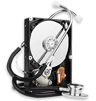 diagnosing a hard drive to recover the data