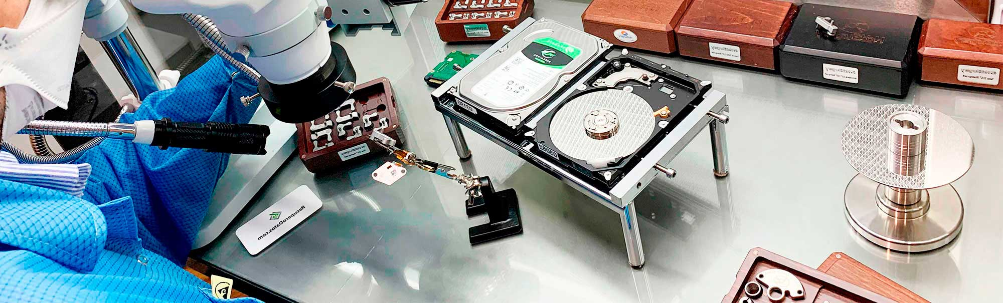 Data Recovery  HDD - Laboratory run by UTN Engineers in clean room